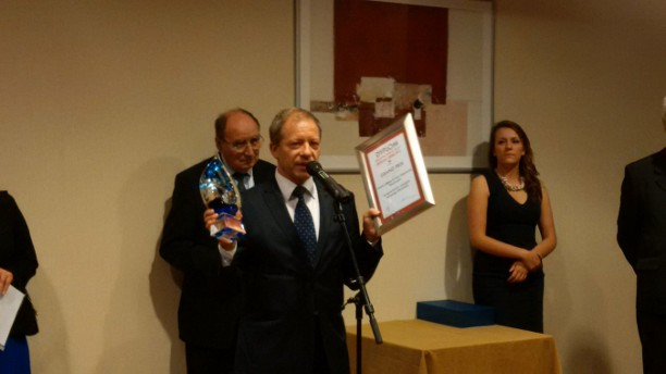 "Grand Prix award on behalf of both companies, was picked by Mr Andrzej Krueger – director of ICSO ""Blachownia"""