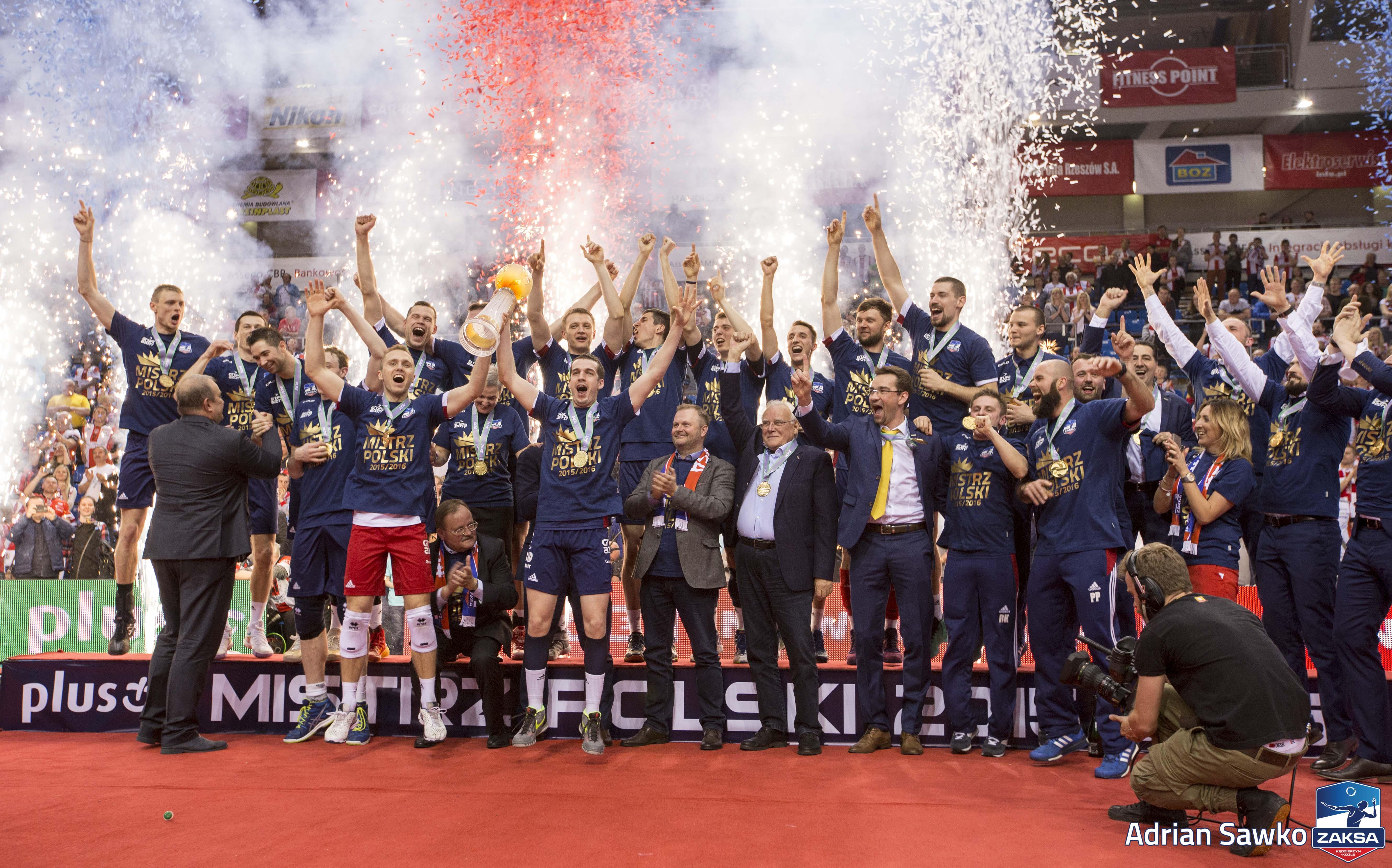 ZAKSA K U0119dzierzyn Ko U017ale Won Polish Volleyball Championship