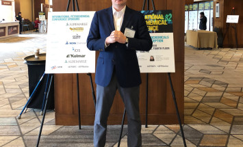 Vice Chairman of Grupa Azoty ZAK S.A. board - Sławomir Brzeziński - at AFPM's International Petrochemical Conference 2018 in San Antonio, Texas, USA