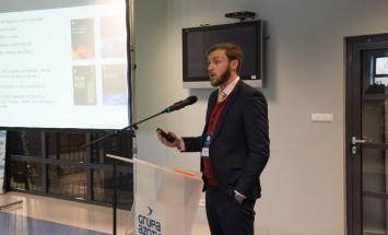 Spotkanie PIGE i Grupy Azoty ZAK S.A. -  Prelekcję wygłosił Wiliam Plunket z Integer Research