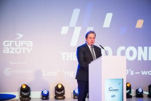 Prezes Grupy Azoty ZAK S.A. Sławomir Lipkowski otwiera The OXO Conference 2018